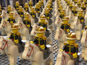 Créations et constructions LEGO au château d'Ancy le Franc Festibriques
