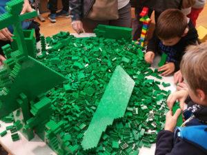 atelier LEGO Créations et constructions LEGO au château d'Ancy le Franc Festibriques