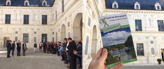 Lancement guide du routard Le Canal de Bourgogne Autour et le long du canal