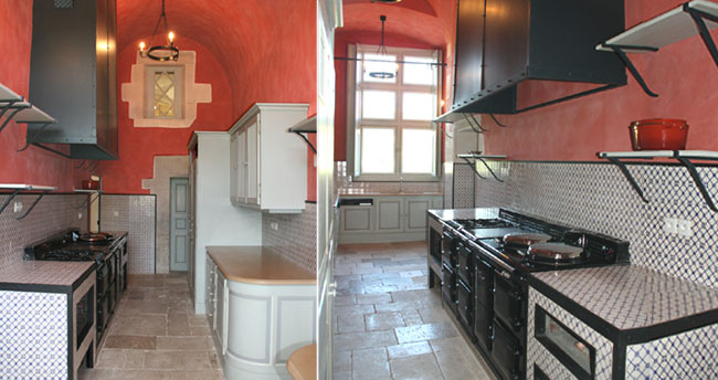 cuisine moderne ch teau d 39 ancy le franc. Black Bedroom Furniture Sets. Home Design Ideas