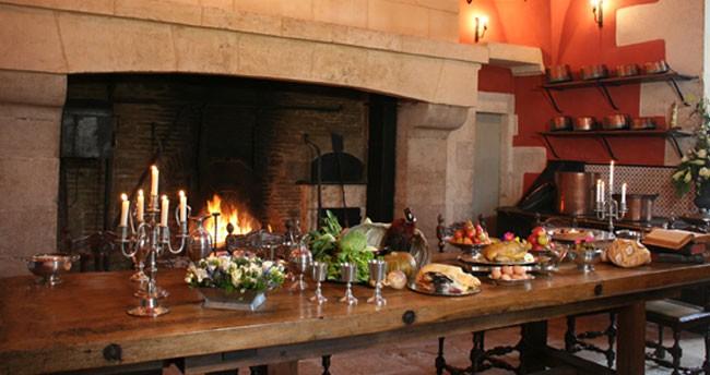 Ancienne Cuisine - Château d\'Ancy le Franc