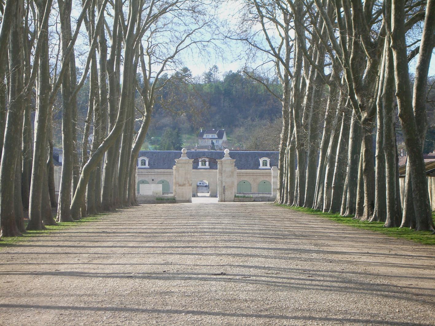 Parking cars privé château d'Ancy le Franc