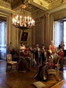 Nocturne Chambre du Roi Ancy le Franc