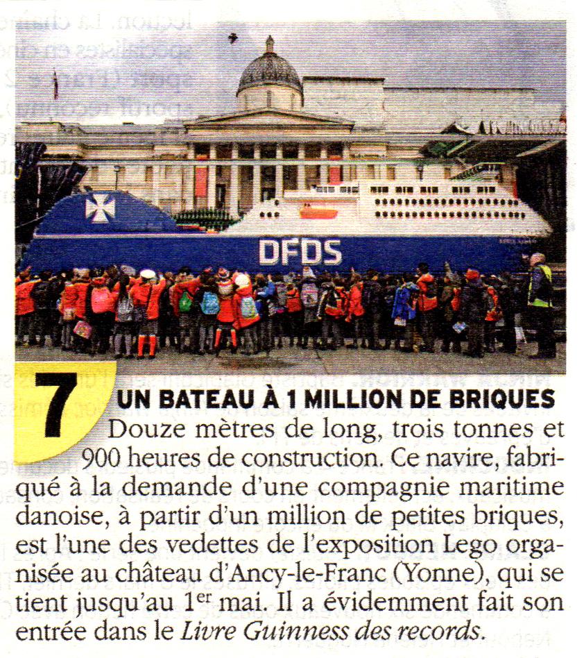 Exposition Château d'Ancy le Franc Télé 7 jours début Avril 2017