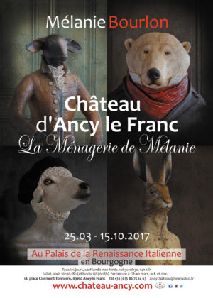exposition de Mélanie Bourlon