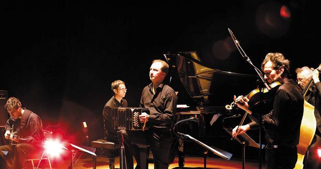 Tangart quintette de Tango piazolla au château d'Ancy le Franc Musicancy