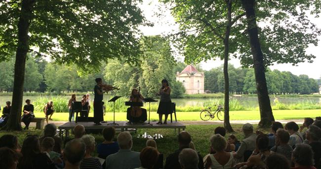 Promenade musicale musicancy château d'Ancy le Franc