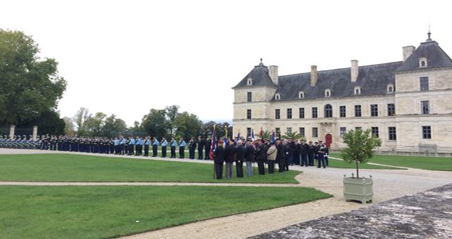Prise de commandement au château d'Ancy le Franc