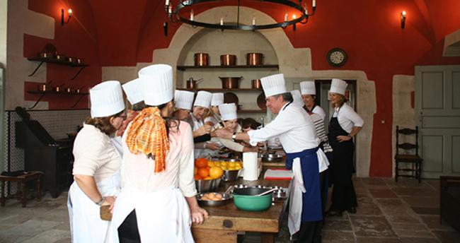 Cours de cuisine au château d'Ancy le Franc