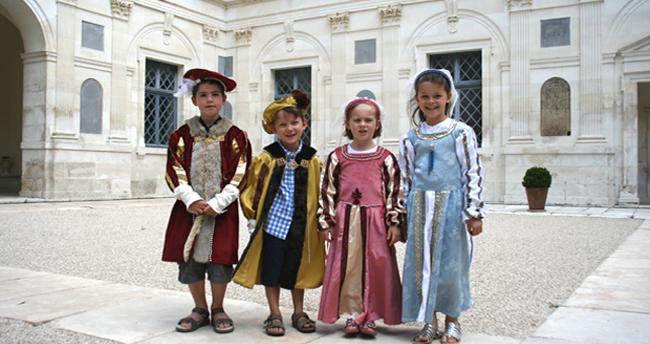 Visitez le château d'Ancy le Franc avec vos enfants