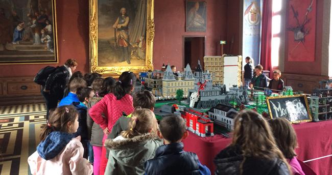 Exposition 100% LEGO au château d'Ancy le Franc