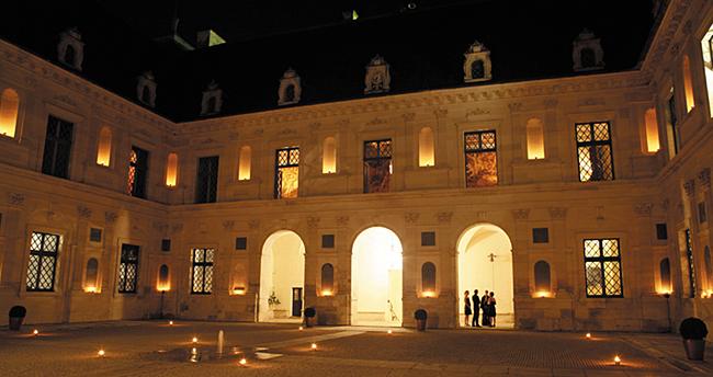 Visites nocturnes au château d'Ancy le Franc