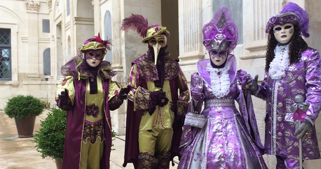 Venise et Vins au Palais d'Ancy le Franc en Bourgogne