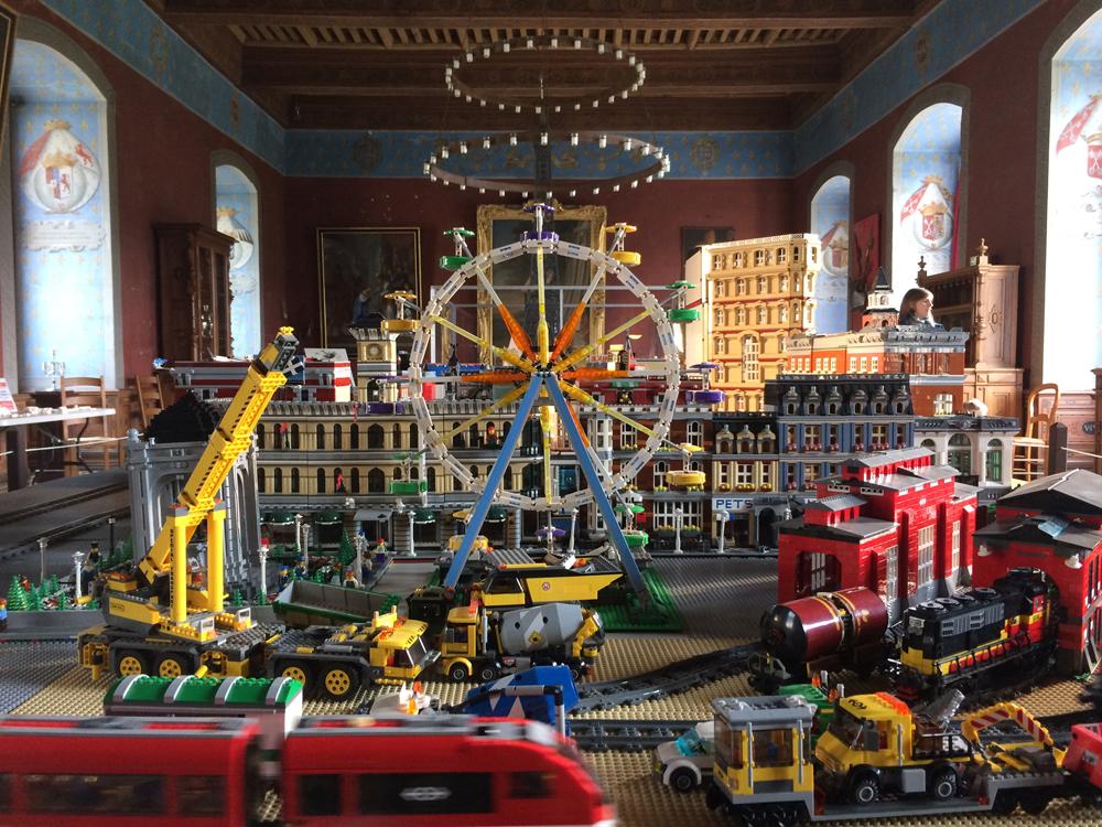 Exposition LEGO 2018 au Château d'Ancy le Franc