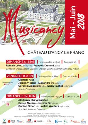 visite concert musicancy ancy le franc chateau en bourgogne