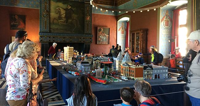expo lego ancy le franc chateau bourgogne