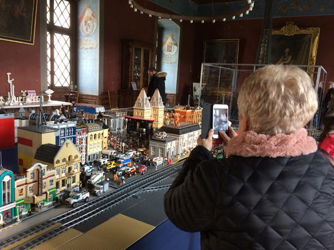 A 100% LEGO® exhibition 2019 - Château d'Ancy le Franc