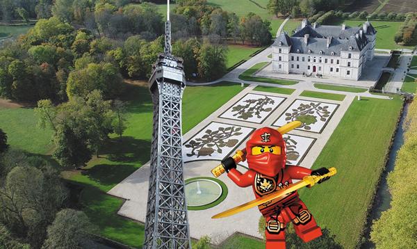 exposition lego au chateau Ancy le Franc bourgogne visites pour enfants en famille