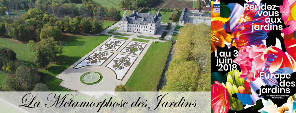 rendezvous aux jardins chateaud' Ancy le Franc bourgogne