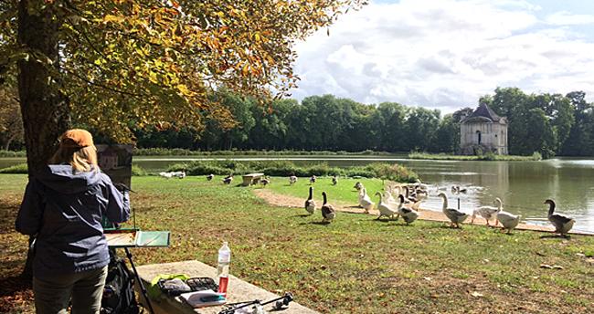 parc et jardins du chateau d'Ancy le Franc