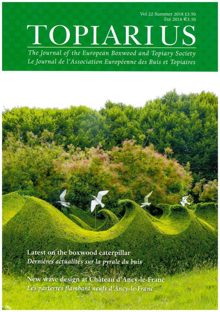 les jardins d'ancy le franc article topiarius