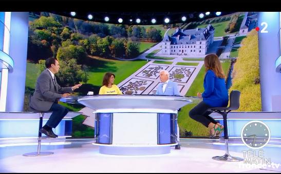 Ancy le Franc sur Télématin France 2