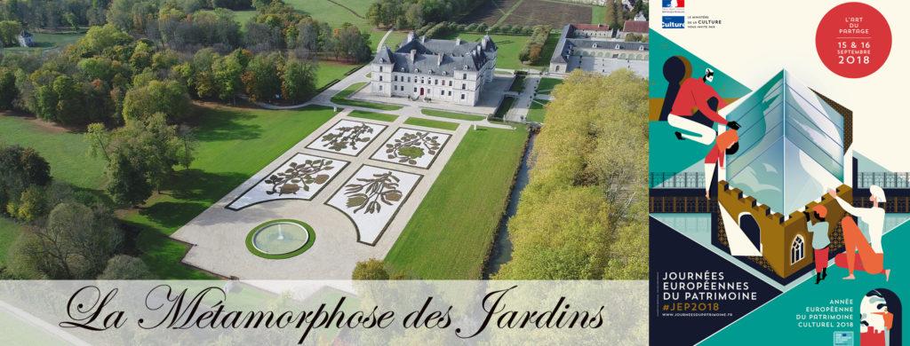 conférence sur les jardins d'Ancy le Franc journées du patrimoine