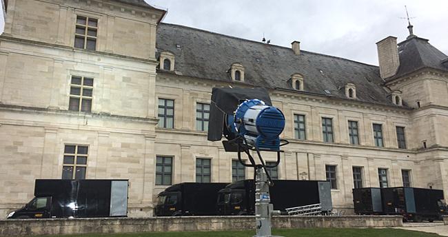 tournage au chateau d'ancy le franc bourgogne