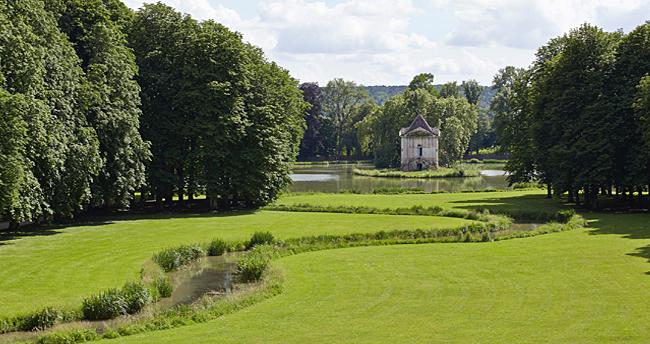 Jardins chateau d'Ancy le Franc