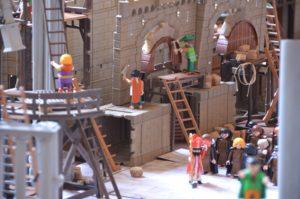 exposition playmobil pour la toussaint au chateau d'ancy le franc bourgogne vacances sortie pour les enfants en famille