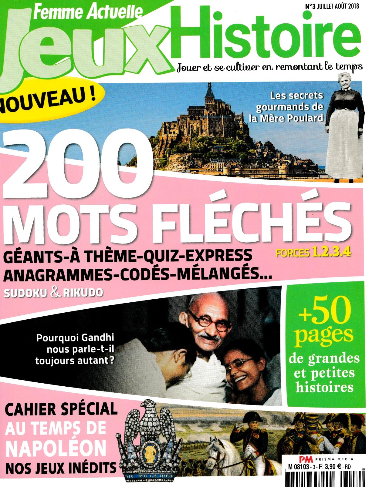 jardins Chateau d'ancy le Franc femme actuelle jeux histoire