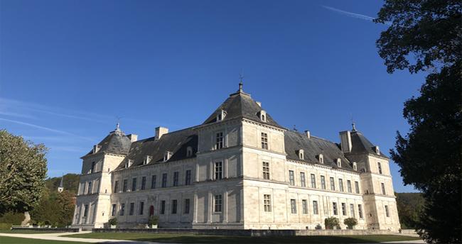 Château d'Ancy le Franc en Bourgogne