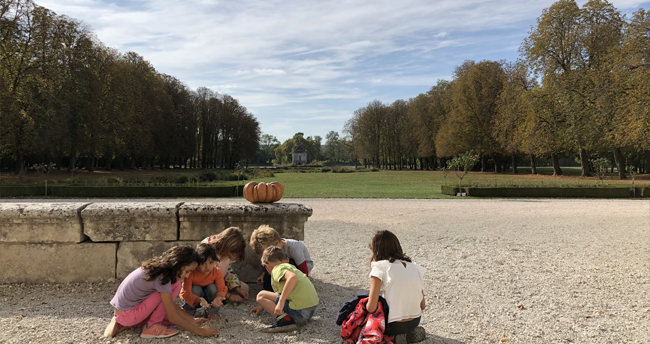 Parc château d'Ancy le Franc