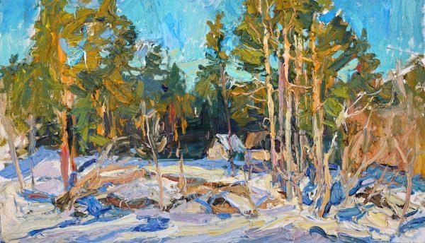 exposition de peintures chateau d'Ancy le Franc Dukhanina Passemard
