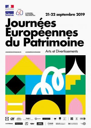 Journées européennes du patrimoine 2019 A4 © Playground - Ministère de la Culture