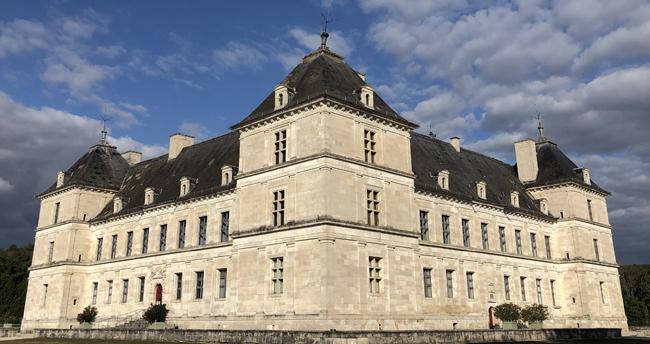 chateau ancy le franc visite en famille vacances toussaint en bourgogne