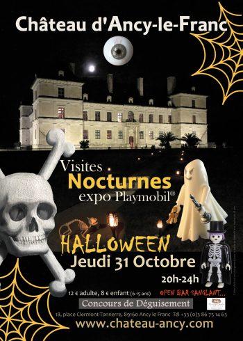 halloween au château toussaint en Bourgogne kids sortie en famille