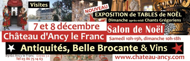 salon de noel Antiquités au chateau belle brocante