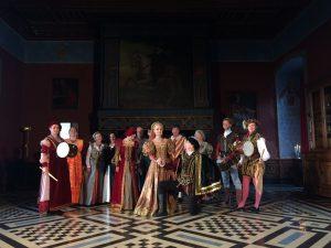 Bassa Toscana Visites nocturnes danses Renaissance Château d'Ancy le Franc