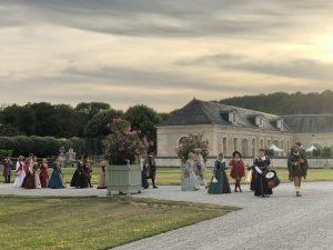 visites nocturnes vistes aux chandelles en bourgogne chateau d'ancy le franc danse