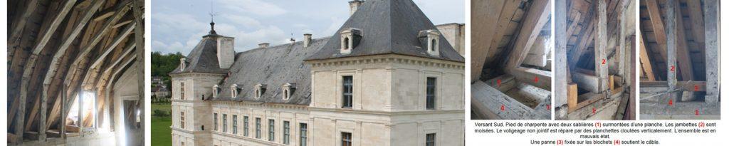 restauration sauvegarde du patrimoine en bourgogne chateau d'Ancy le Franc toiture don crowdfunding mécénat